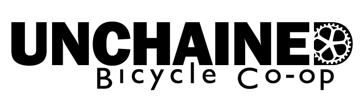 Unchained Bicycle Co-op logo
